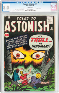 Tales to Astonish #21 (Marvel, 1961) CGC VF 8.0 Cream pages