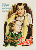 "Movie Posters:Hitchcock, Mr. & Mrs. Smith (RKO, 1946). First Post-War Italian 2 - Fogli(39"" X 55"") Averardo Ciriello Art.. ..."