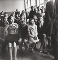 Photographs, Antanas Sutkus (Lithuanian, b. 1939). Village Children at the Competition, 1966. Gelatin silver. 12 x 11-1/2 inches (30....
