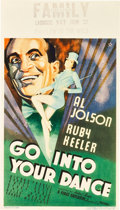 """Movie Posters:Crime, Go Into Your Dance (Warner Brothers, 1935). Midget Window Card (8""""X 14"""").. ..."""