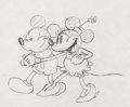 Animation Art:Production Drawing, The Pet Store Mickey and Minnie Mouse Animation DrawingsGroup of 2 (Walt Disney, 1933).... (Total: 2 Original Art)