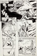 Original Comic Art:Panel Pages, Dave Ross and Andy Mushynsky Spectacular Spider-Man Annual #9 Story Page 6 Original Art (Marvel, 1989)....
