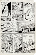 Original Comic Art:Panel Pages, John Romita Jr., Dan Green and Bob Wiacek Uncanny X-Men #180 Story Page 13 Original Art (Marvel, 1984)....