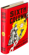 Books:Science Fiction & Fantasy, Robert A. Heinlein. Sixth Column. New York: [1949]. Firstedition....