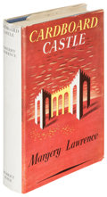 Books:Horror & Supernatural, Margery Lawrence. Cardboard Castle. London: [1951]. Firstedition, association copy....