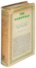 Books:Horror & Supernatural, Montague Summers. The Werewolf. London: 1933. First edition....