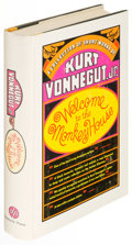 Books:Science Fiction & Fantasy, Kurt Vonnegut. Welcome to the Monkey House. A Collectionof Short Works. [New York]: [1968]. First edition....