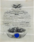 Autographs:U.S. Presidents, William Taft Signed Presidential Military Appointment....