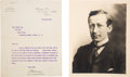 Autographs:Inventors, Guglielmo Marconi Typed Letter Signed....