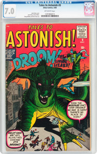 Tales to Astonish #9 (Marvel, 1960) CGC FN/VF 7.0 Off-white pages