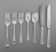 An Eighty-Five Piece Allan Adler Round End Pattern Silver Flatware Service for Twelve, Los Angeles, California,... (Tota...