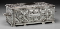 A Large Tiffany & Co. Special Hand Work Silver Humidor, Attributed to Arthur Leroy Barney, <