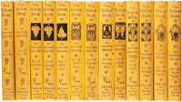 [Aubrey Beardsley]. The Yellow Book: an Illustrated Quarterly, Vols. I - XIII, April, 1894 -