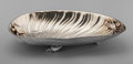 Silver Holloware, American:Other , A Whiting Mfg. Co. Partial Gilt Silver Shell-Form Dish with AppliedDesign, New York, New York, circa 1885. Marks: (W-griff...