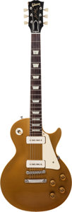 Musical Instruments:Electric Guitars, 1955 Gibson Les Paul Goldtop Solid Body Electric Guitar, Serial #510684....