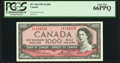 Canadian Currency: , BC-44d 1954 $1000. ...