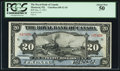Canadian Currency: , Montreal, PQ- The Royal Bank of Canada $20 Jan. 2, 1913 Ch. # 630-12-10. ...