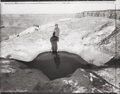 Photographs, Mark Klett (American, b. 1952). Lena by the Reflecting Pool, Muley Pt., 1996. Gelatin silver. 15-7/8 x 19-3/4 inches (40...