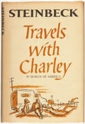 Books:Americana & American History, John Steinbeck. Travels with Charley. New York: The VikingPress, [1962]....