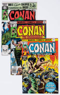 Bronze Age (1970-1979):Adventure, Conan the Barbarian Group of 12 (Marvel, 1976-84) Condition: Average NM.... (Total: 12 Comic Books)