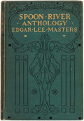 Books:Fiction, Edgar Lee Masters. Spoon River Anthology. New York: TheMacmillan Company, 1915....