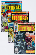 Bronze Age (1970-1979):Science Fiction, The Eternals Group of 11 (Marvel, 1976-77) Condition: Average NM.... (Total: 11 Comic Books)