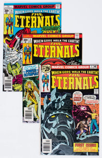 The Eternals Group of 11 (Marvel, 1976-77) Condition: Average NM.... (Total: 11 Comic Books)