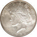 Peace Dollars: , 1922-S $1 MS66 NGC. The 1922-S is an uncommon coin to find in sucha superior state of preser...