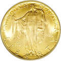 Commemorative Gold: , 1926 $2 1/2 Sesquicentennial MS65 PCGS. The hallmark of thisattractive gold coin is its fulsome luster and rich orange-gol...