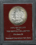 Additional Certified Coins: , 1891-S $1 Morgan Dollar MS65 Paramount International (MS62). Ex: Redfield Collection. Periphe...