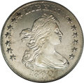 Early Dollars: , 1800 $1 AU50 NGC. B-14, BB-194, R.3. This is an example of thefamous Dotted Date variety. It...
