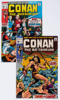 Bronze Age (1970-1979):Adventure, Conan the Barbarian #1 and 2 Group (Marvel, 1970) Condition: Average VF/NM.... (Total: 2 Comic Books)