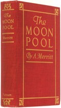 Books:Science Fiction & Fantasy, A. Merritt. The Moon Pool. New York and London: G. P.Putnam's Sons, 1919....