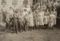 Photographs:Gelatin Silver, Lewis Wickes Hine (American, 1874-1940). Whole Force of Cotton Workers, Cotton Mills, 1913. Gelatin silver. 4-1/2 x 6-1/...
