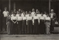 Photographs:Gelatin Silver, Lewis Wickes Hine (American, 1874-1940). Workers in Reiss Dpt. Store, 1914. Gelatin silver. 4-5/8 x 6-5/8 inches (11.7 x...