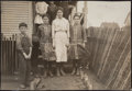 Photographs:Gelatin Silver, Lewis Wickes Hine (American, 1874-1940). Four Children of H.T. Thompson, 1913. Gelatin silver. 4-1/4 x 6-1/4 inches (10....
