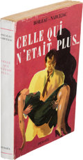 Books:Mystery & Detective Fiction, [Pierre] Boileau, [Thomas] Narcejac. Celle qui n'étaitplus... Paris: [1952]. True first edition, basis for the ...
