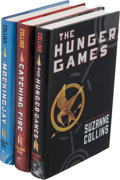 Books:Science Fiction & Fantasy, Suzanne Collins. The Hunger Games Trilogy. New York:[2008-2010]. First trade editions.... (Total: 3 Items)