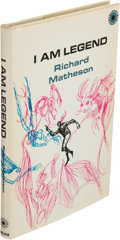 Books:Horror & Supernatural, Richard Matheson. I Am Legend. New York: [1970]. Firsthardcover edition, inscribed by Matheson.. ...