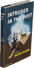 Books:Literature 1900-up, William Faulkner. Intruder in the Dust. New York: [1948].First edition.. ...
