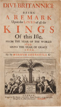 Books:World History, Sir Winston Churchill. Divi Britannici. London: 1675. First edition....