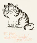 Original Comic Art:Illustrations, Jim Davis - Garfield Illustration Original Art (1978)....