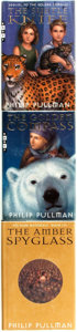 Books:Children's Books, Philip Pullman. His Dark Materials Trilogy, including:The Golden Compass [with:] The Subtle Knife ... (Total: 3Items)