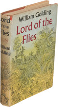Books:Literature 1900-up, William Golding. Lord of the Flies. London: Faber and Faber,Ltd., [1954]. First edition. Octavo. 248 pages. ...