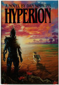 Books:Science Fiction & Fantasy, Dan Simmons. SIGNED/INSCRIBED. Hyperion. New York, London,Toronto, Sydney, Auckland: Doubleday, [1989]. ...