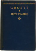 Books:Horror & Supernatural, Edith Wharton. Ghosts. New York, London: D. Appleton-Century Company, Incorporated, 1937....
