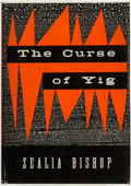 Books:Horror & Supernatural, Zealia B. Bishop. The Curse of Yig. Sauk City, Wisconsin: Arkham House, 1953. ...