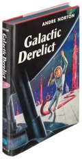 Books:Science Fiction & Fantasy, Andre Norton. Galactic Derelict. Cleveland and New York:[1959]. First edition....