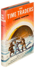 Books:Science Fiction & Fantasy, Andre Norton. The Time Traders. Cleveland: [1958]. Firstedition....