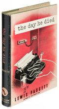 Books:Mystery & Detective Fiction, Lewis Padgett (pseudonym of Henry Kuttner and C. L. Moore). TheDay He Died. New York: [1947]. First edition....